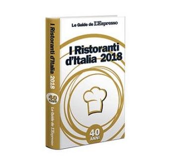 Le Guide de l'espresso – I Ristoranti d'Italia 2018